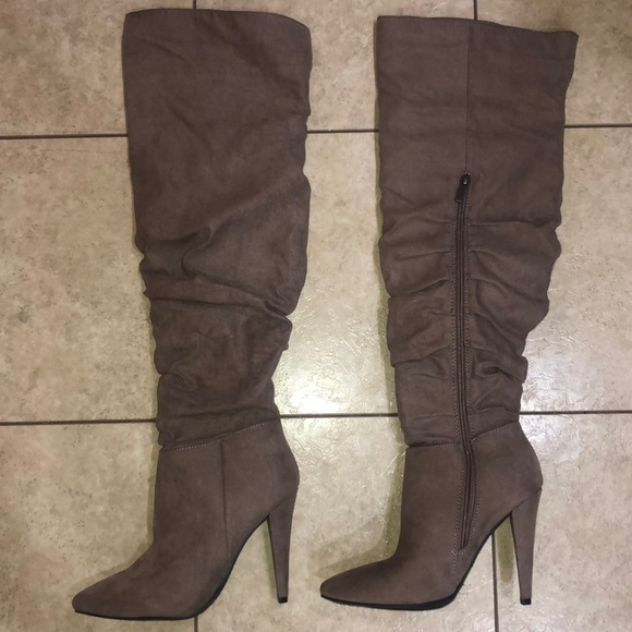 132c09b5bf4 Dress Up Boutique Over The Knee Tall Boots